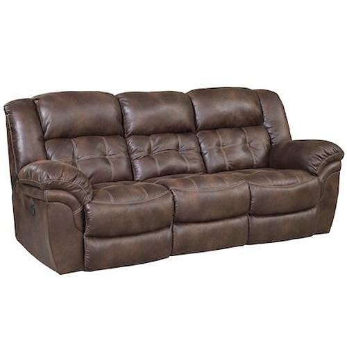 HomeStretch 129 Casual Power Reclining Sofa