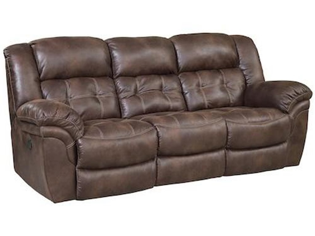 HomeStretch 129Reclining Sofa