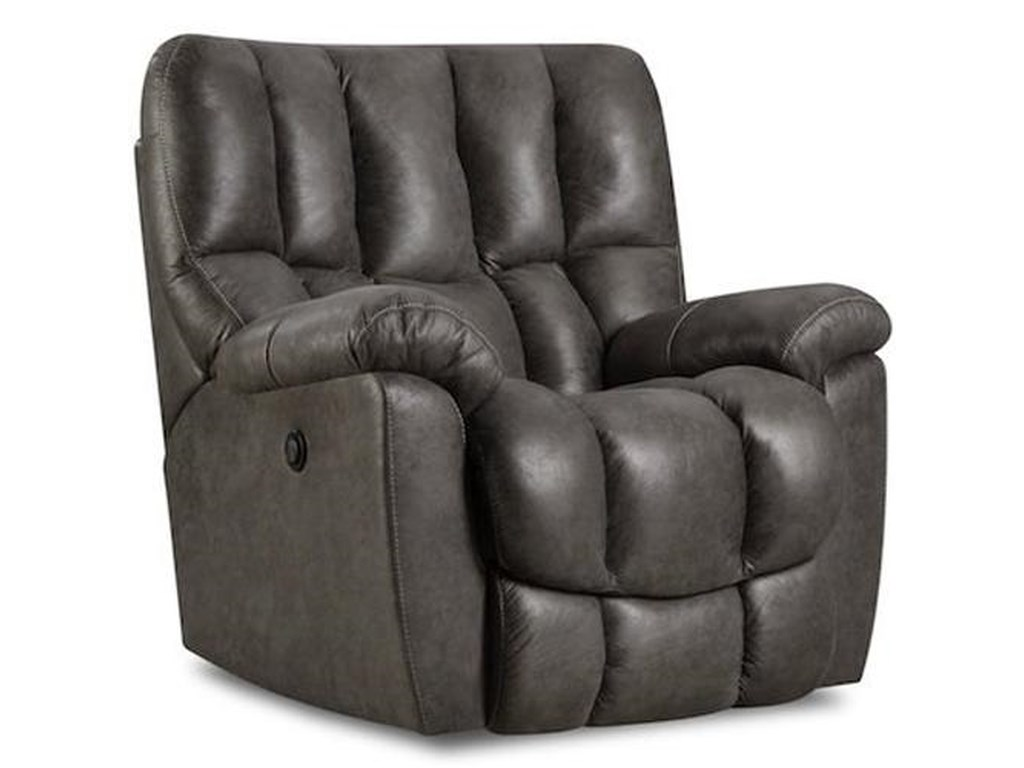 HomeStretch 133-91Casual Power Rocker Recliner