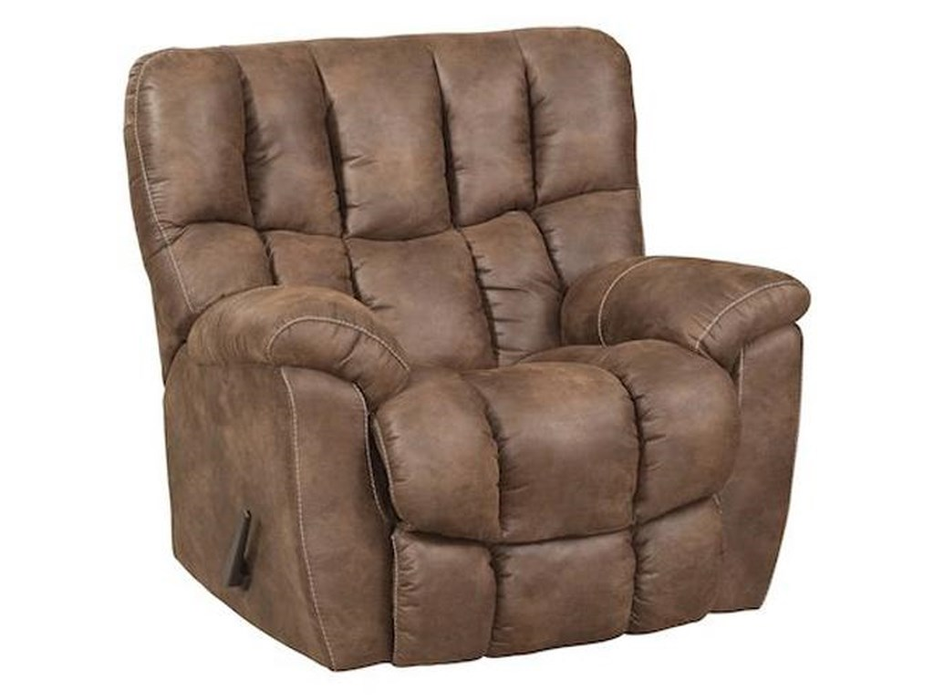 HomeStretch 133-91Casual Rocker Recliner