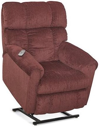 Comfort Living 134 Casual Lift Recliner with Plush Chaise