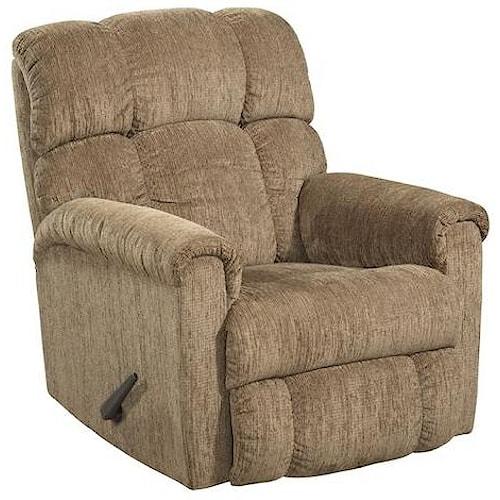 Comfort Living 134 Plush Chaise Rocker Recliner