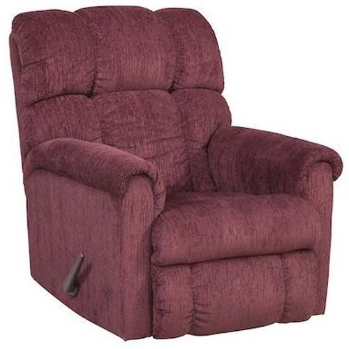 Comfort Living 134 Plush Chaise Rocker Recliner
