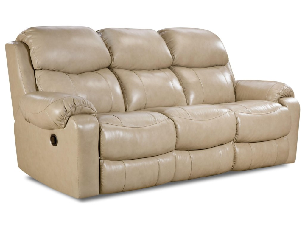 Comfort Living 135 CollectionDouble Reclining Sofa