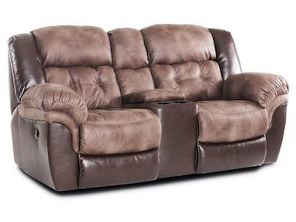 HomeStretch FenwayReclining Power Loveseat