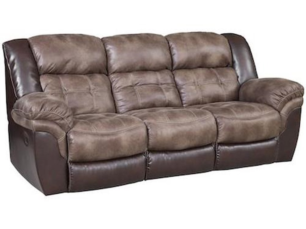 Homestretch 139 Casual Reclining Sofa With Pillow Top Arms Royal Furniture Reclining Sofas