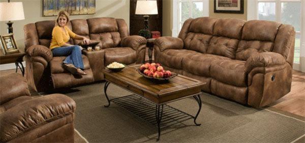 Comfort Living SierraReclining Sofa & Loveseat Set