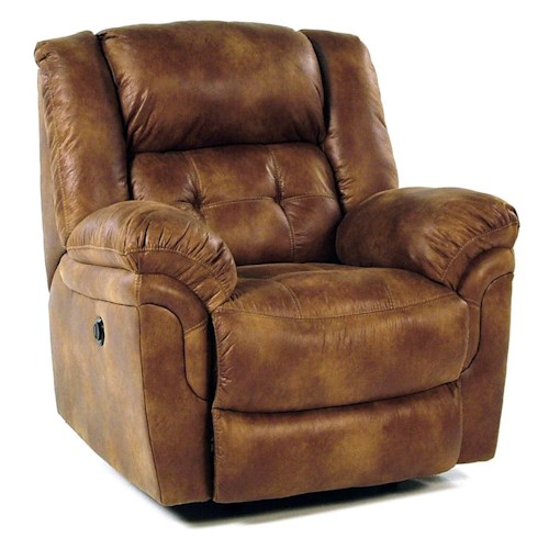 Comfort Living Sierra Casual Power Rocker Recliner