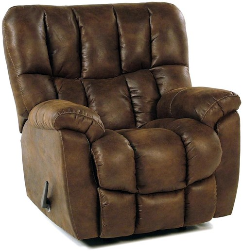 Comfort Living Overstuffed Rocker / Recliner