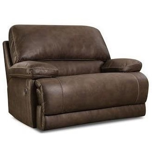 Comfort Living 147 Casual Power Chair-and-a-Half Recliner with Pillow Arms