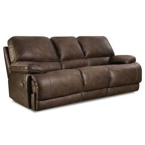 Comfort Living 147 Casual Power Sofa with Split Back and Full Chaise Cushions