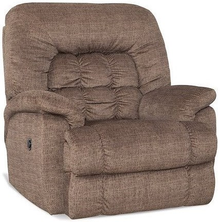 HomeStretch Andre Casual XTreme Big & Tall Recliner with Banded Biscuit Back