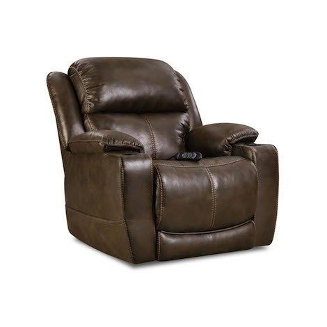 HomeStretch Starship Walnut Power Recliner with Power Lumbar u0026 Headrest - Great American Home Store - Three Way Recliners  sc 1 st  Great American Home Store & HomeStretch Starship Walnut Power Recliner with Power Lumbar ... islam-shia.org