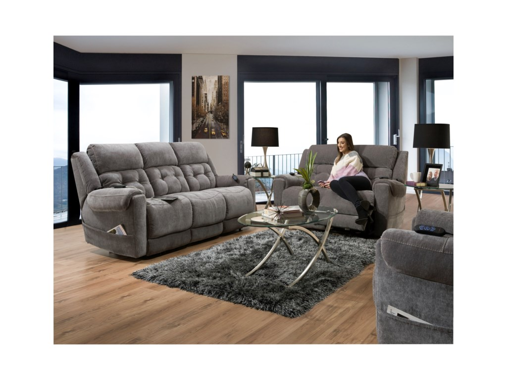 HomeStretch 165Reclining Living Room Group