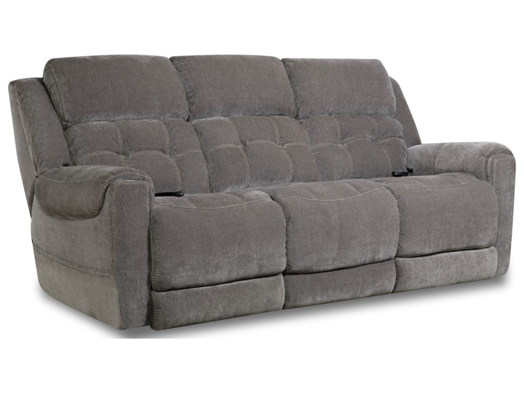 HomeStretch 165Double Reclining Power Sofa