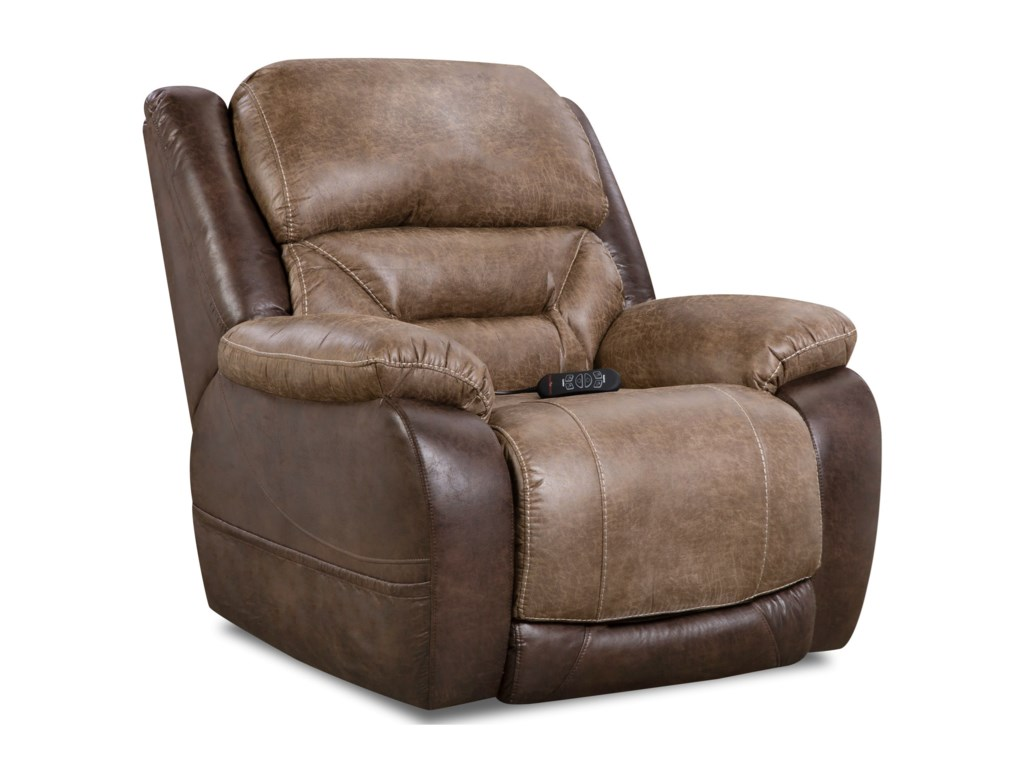 HomeStretch 168 CollectionPower Wall Saver Recliner