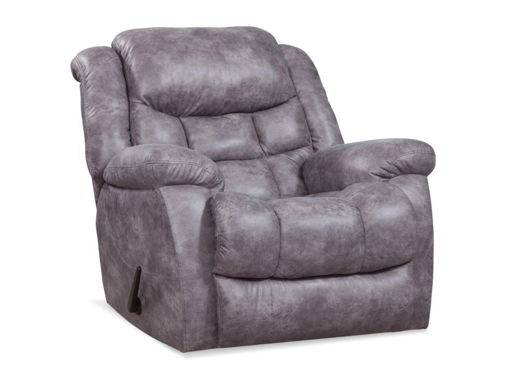 HomeStretch 169Plush Rocker Recliner