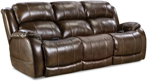 Comfort Living 170 Collection Double Reclining Power Sofa