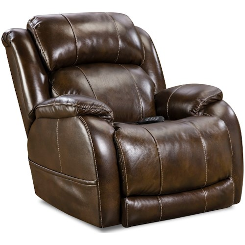 HomeStretch 170 Collection Power Wall-Saver Recliner