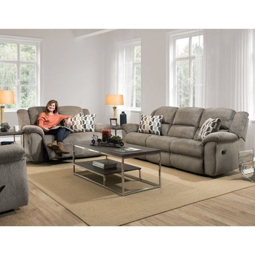 HomeStretch 173 Casual Reclining Living Room Group