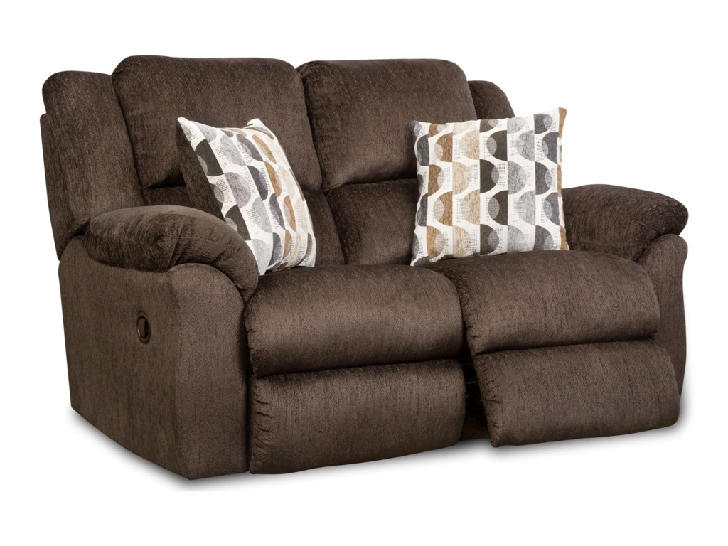 HomeStretch JerichoReclining Loveseat
