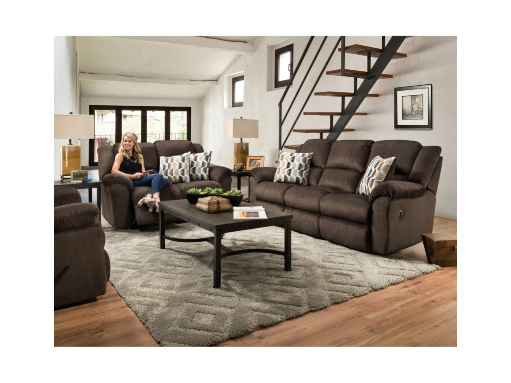 Comfort Living AceReclining Loveseat