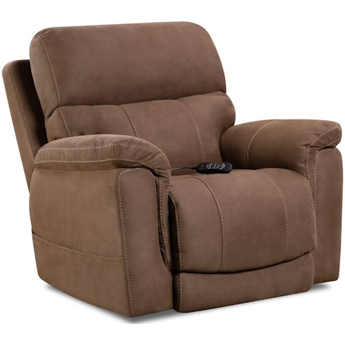 HomeStretch 175 Collection Power Wall-Saver Recliner
