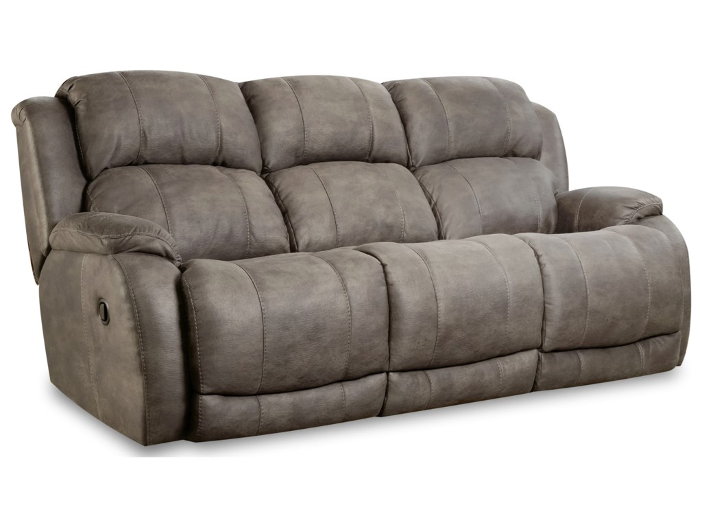 HomeStretch DenaliDual Power Reclining Sofa