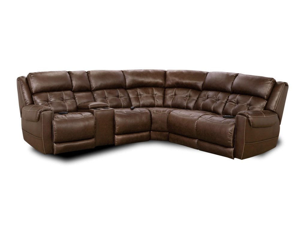 Comfort Living 180L-Shaped Power Reclining Sectional