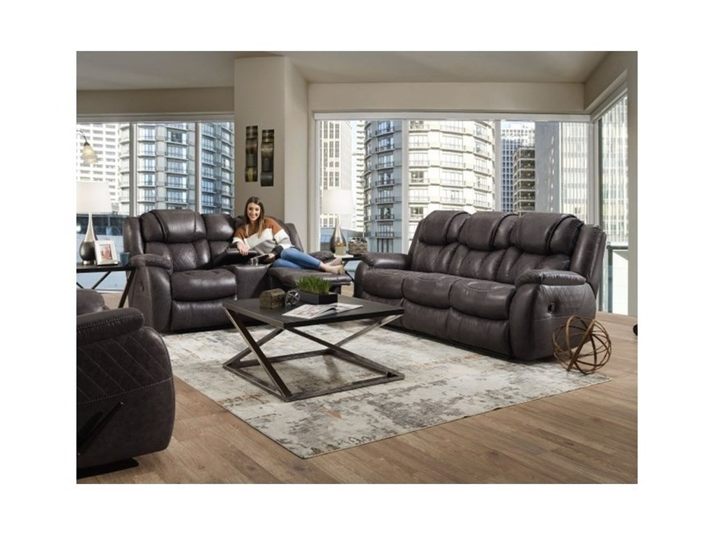 HomeStretch 182Reclining Living Room Group