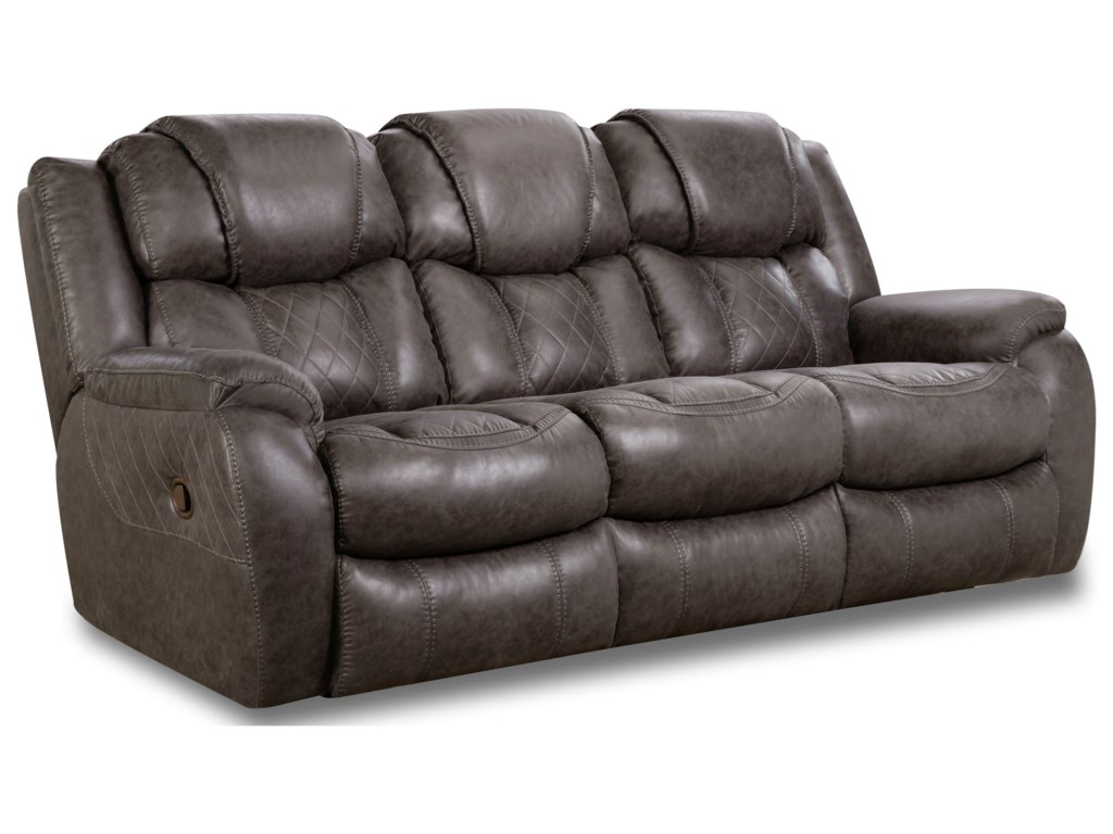HomeStretch 182Double Reclining Sofa