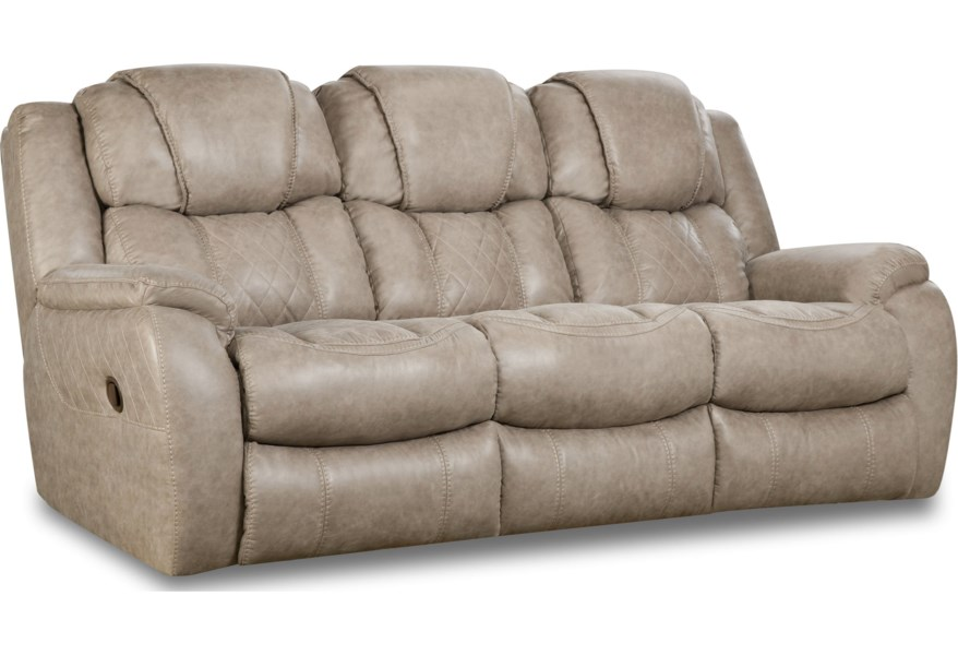 Casual Style Double Reclining Sofa