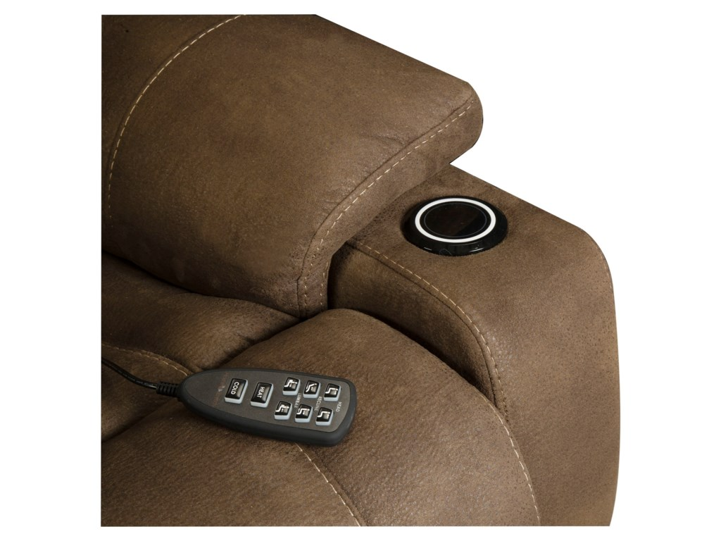 HomeStretch BreezePower Heat/Cool Recliner