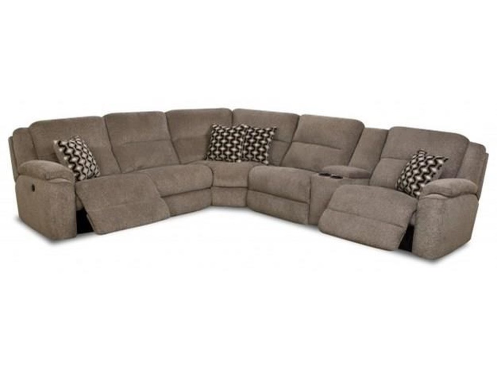 Wyatt Casual Reclining Sectional Sofa With Usb Charging Cup Holders By Comfort Living At Rotmans