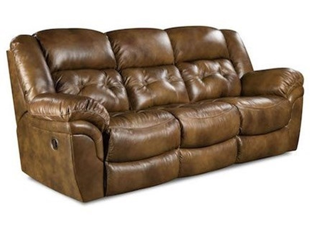 Comfort Living Cavendish Casual Double Reclining Power Sofa With