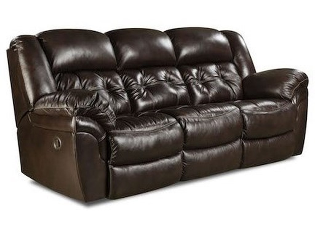 HomeStretch CheyenneDouble Reclining Sofa
