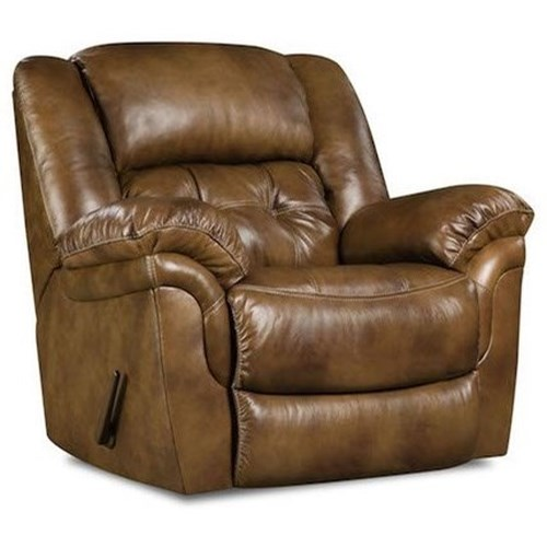Comfort Living Cavendish Casual Power Rocker Recliner with Tufted Back