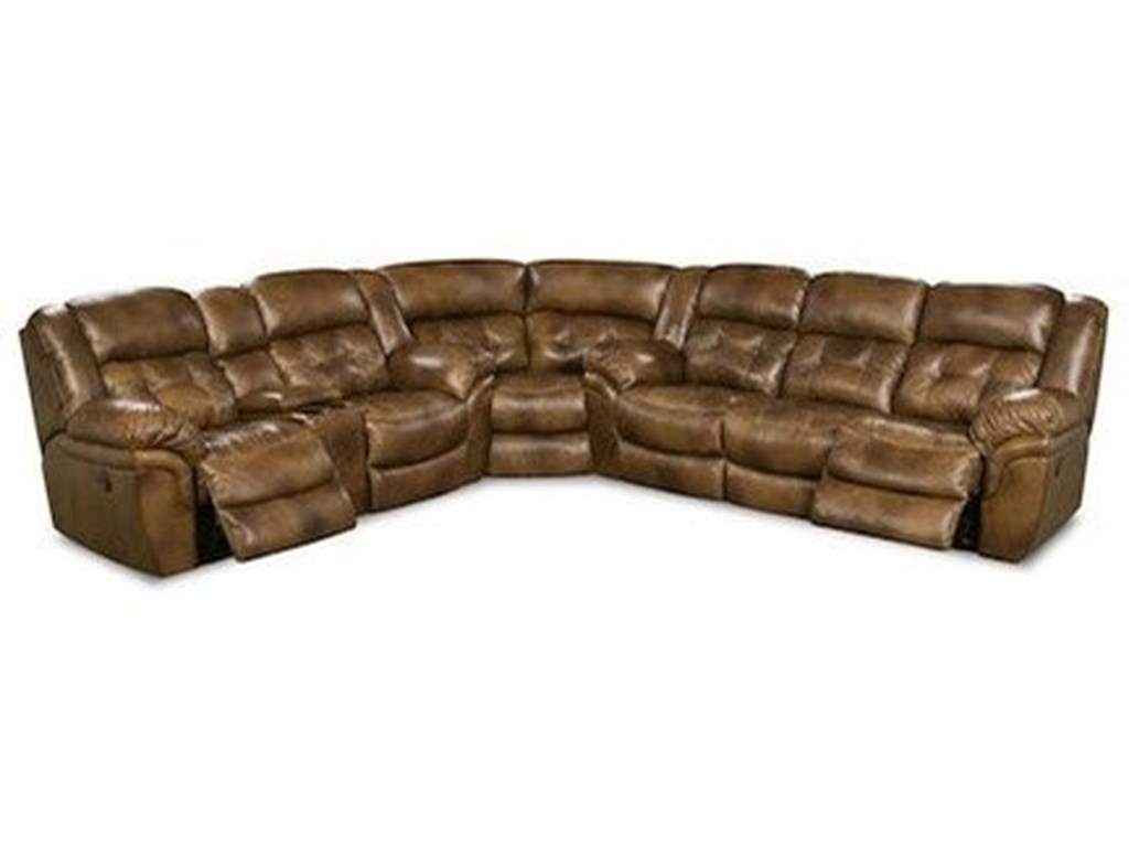 HomeStretch CheyenneSuper Wedge Power Reclining Sectional