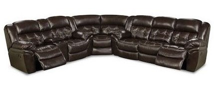 HomeStretch CheyenneSuper Wedge Reclining Sectional