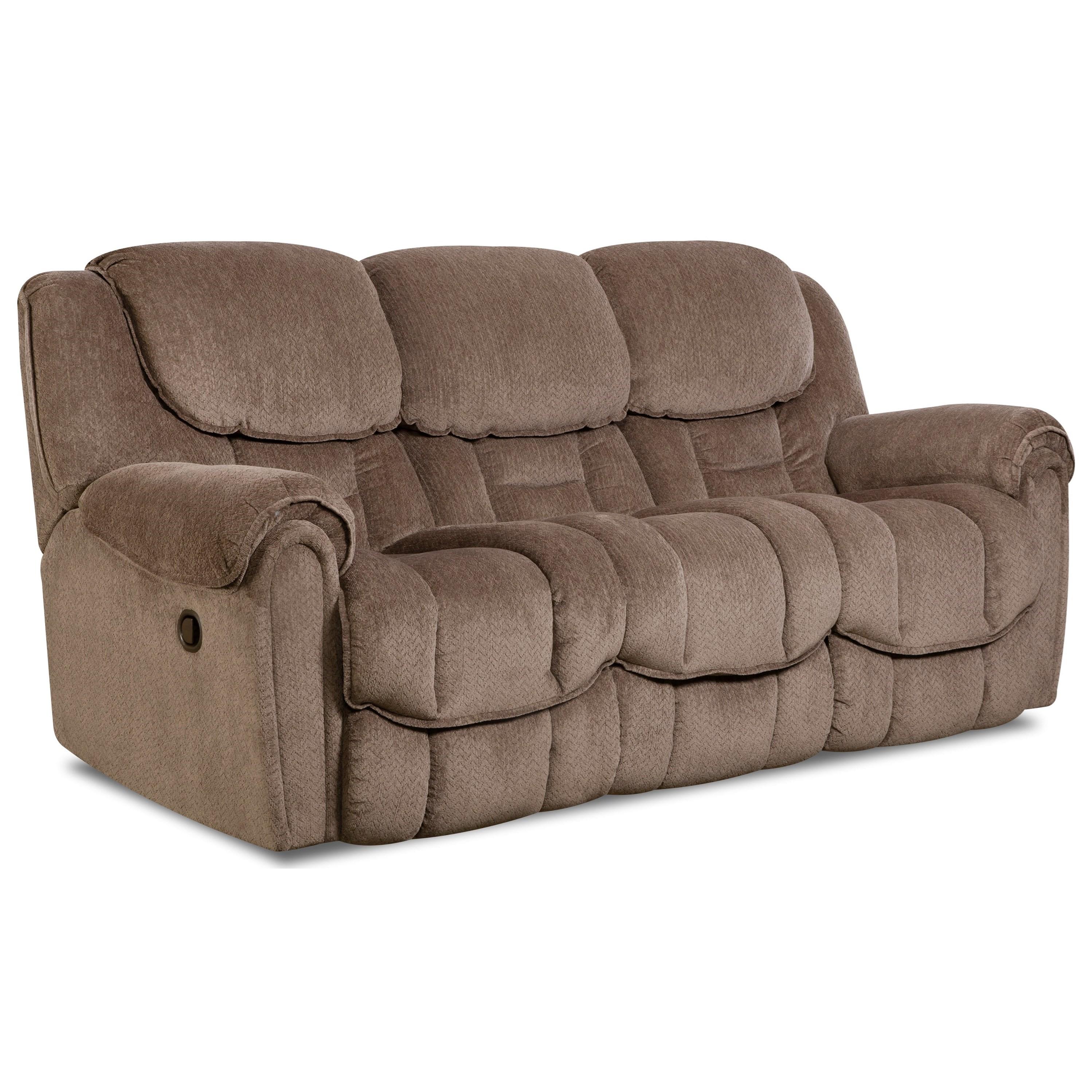 HomeStretch Del Mar 122Double Reclining Sofa ...