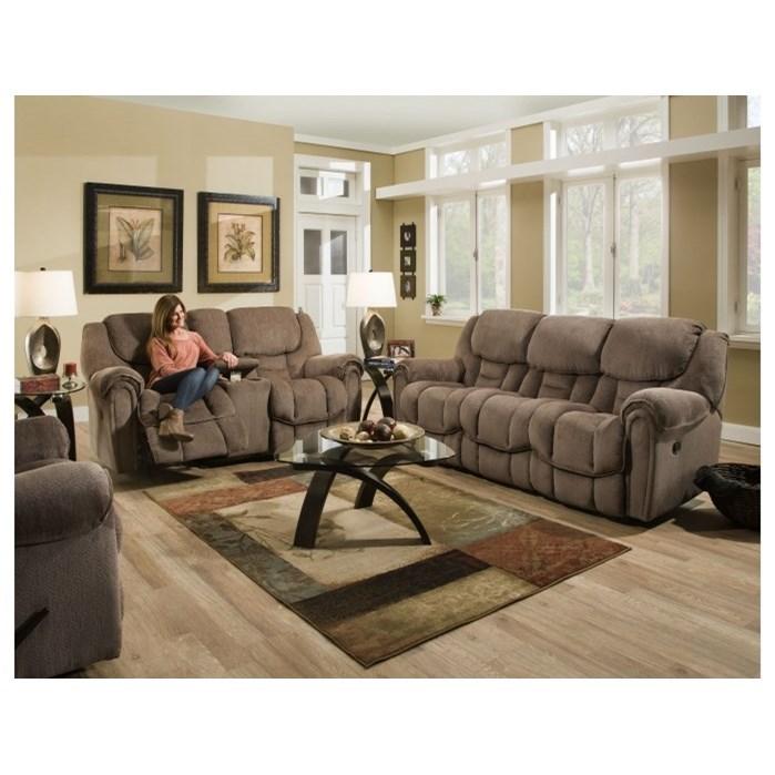 Etonnant ... HomeStretch Del Mar 122Double Reclining Sofa