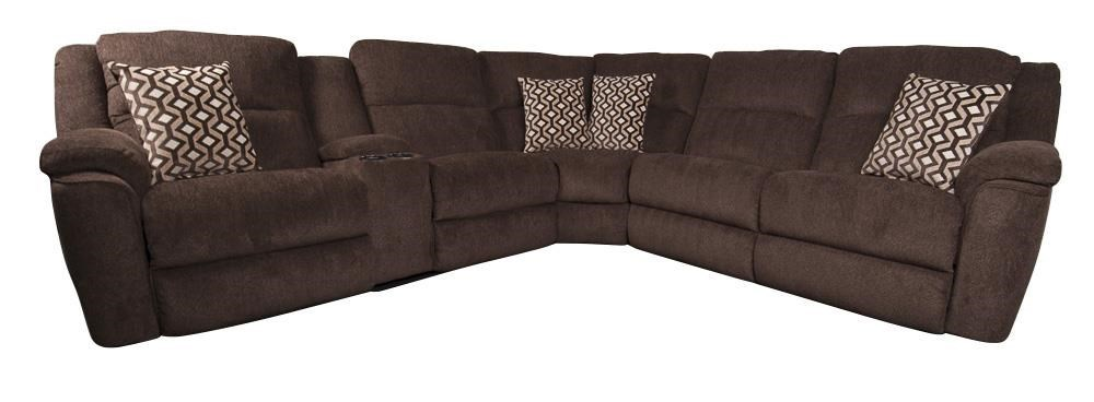Morris Home Furnishings DrewDrew Power Sectional Sofa