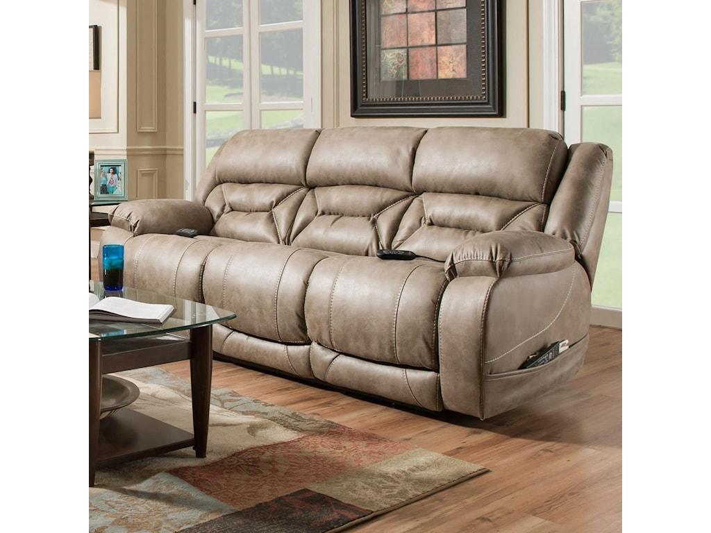 HomeStretch EnterprisePower Reclining Sofa