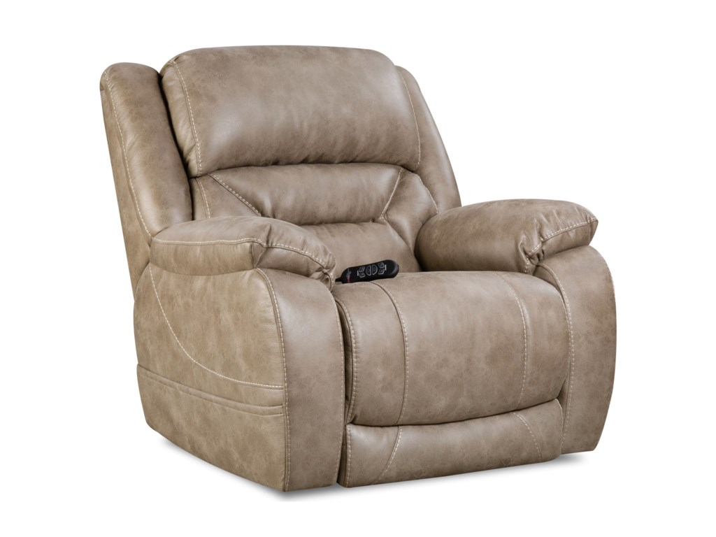 HomeStretch Enterprise Casual Power Recliner with Power Headrest   Johnny  Janosik   Three Way Recliners. HomeStretch Enterprise Casual Power Recliner with Power Headrest