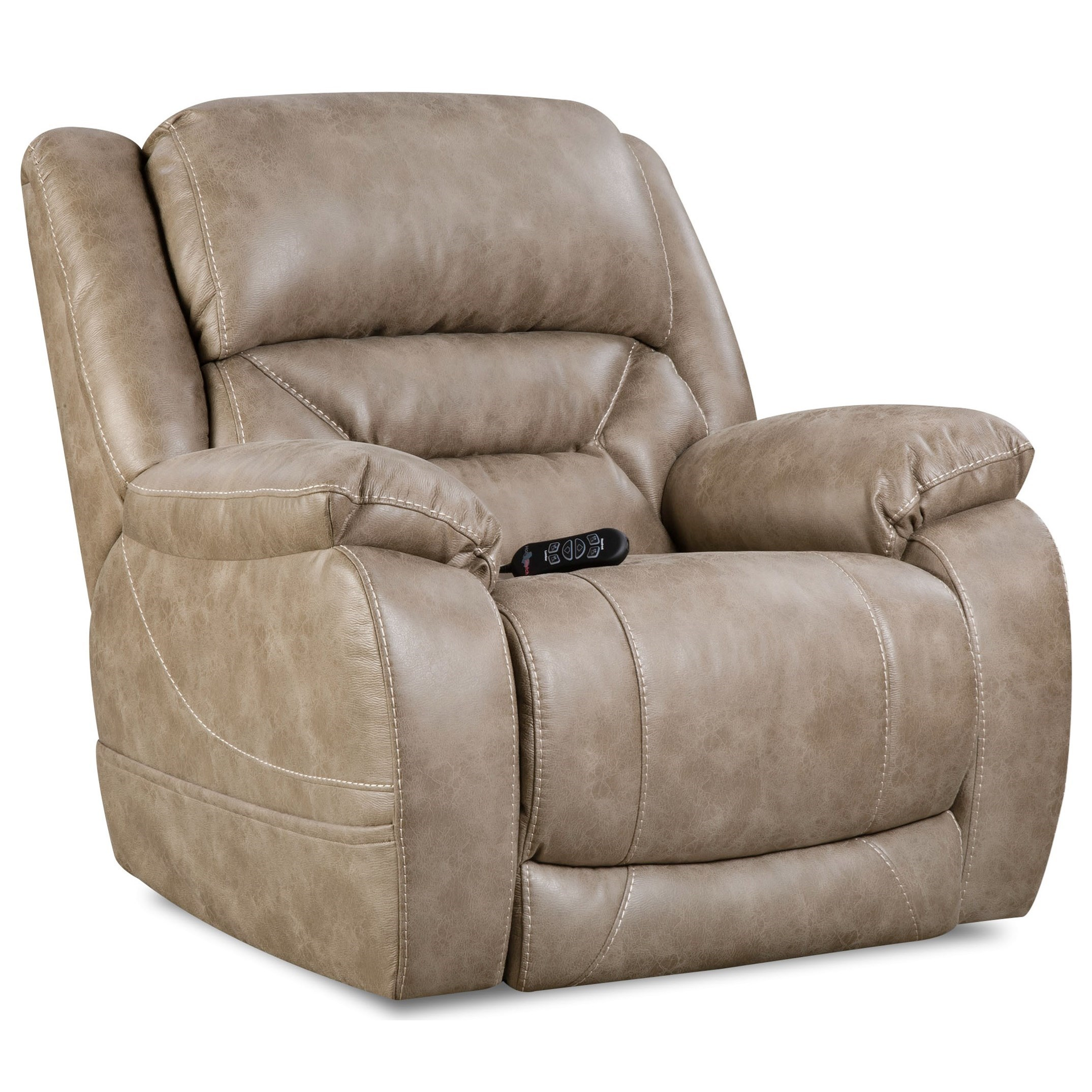 HomeStretch Enterprise Casual Power Recliner with Power Headrest - Johnny Janosik - Three Way Recliners  sc 1 st  Johnny Janosik & HomeStretch Enterprise Casual Power Recliner with Power Headrest ... islam-shia.org