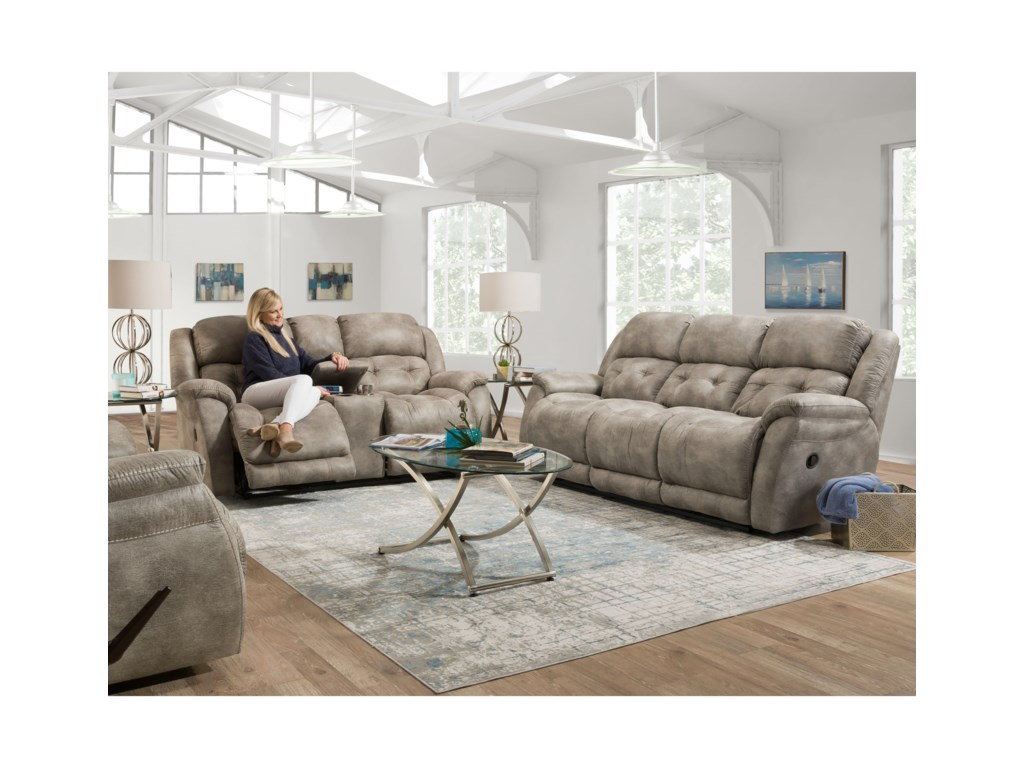 HomeStretch McLeanReclining Living Room Group