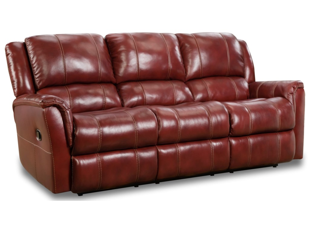 HomeStretch MercuryDouble Reclining Sofa