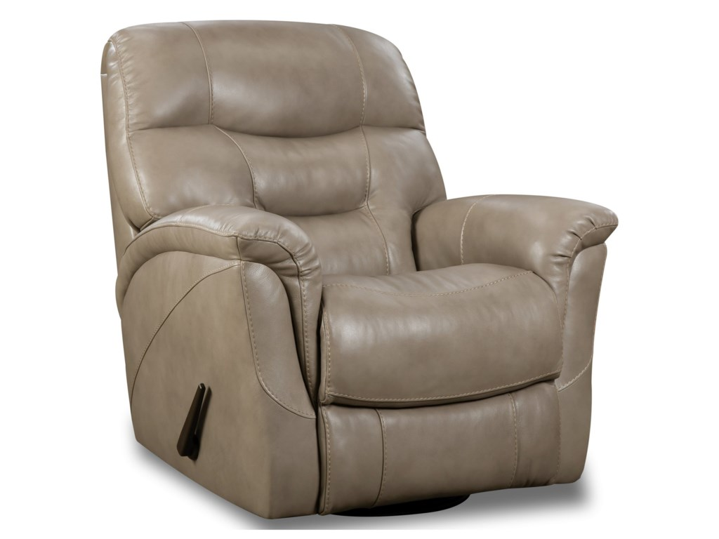 HomeStretch MerinoSwivel Glider Recliner