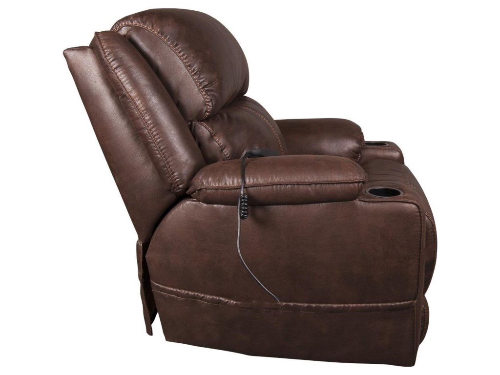 HomeStretch RaneyRaney Power Recliner w/ Power Headrest