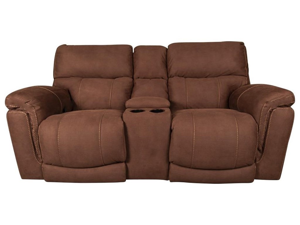 Morris Home Furnishings RidleyRidley Power Loveseat with USB
